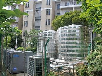 湖北省经济学院热水工程