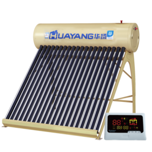 汽芯数字全自动华扬太阳能热水器