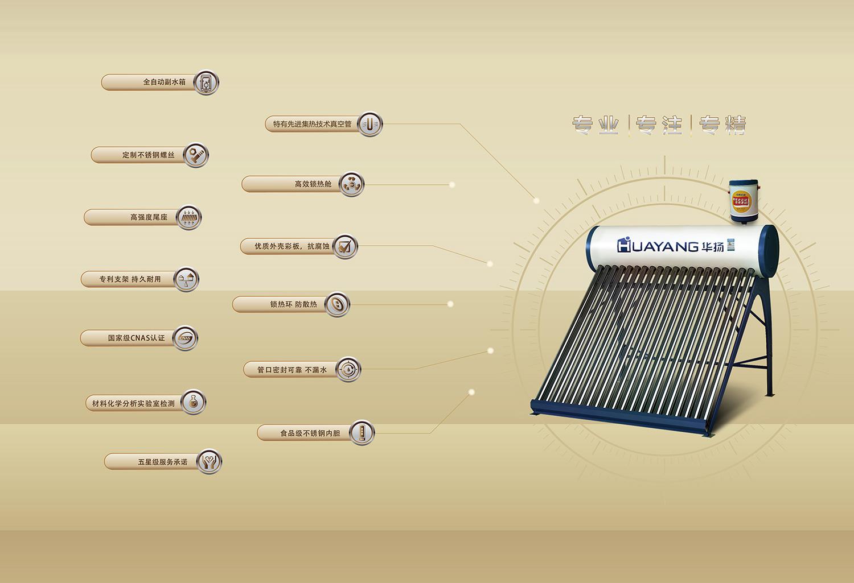 精工无电全自动太阳能热水器